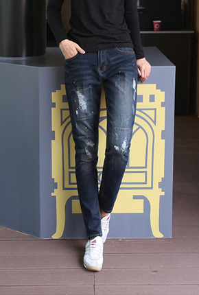 NO。(S〜XXL)添加大<br> Deotdem哈伦牛仔裤NA670