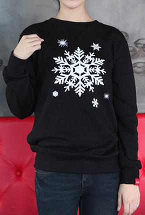 加绒(男/女众)M〜XXL <BR>雪天空运动衫