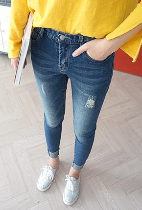 NA827(25〜34) <br>完美紧身牛仔裤