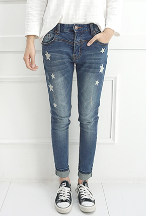 NA831(S〜XXL) <br>哈伦星九的牛仔裤