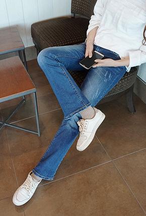 <FONT color=#f91305>它通过11,000页爆发</font> <BR> NA716(25〜34) <BR>划痕靴型裤