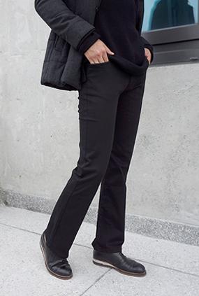 NA864(28〜36) <br>深黑靴型裤