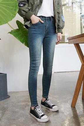 NA849(25〜32) <BR>极光紧身牛仔裤