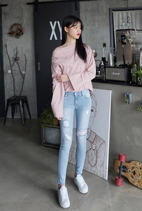 EJ111(25〜32) <BR>女人紧身牛仔裤