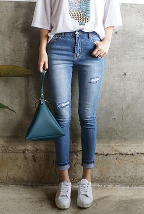 EJ114(25〜32) <BR>原本漂亮的紧身牛仔裤
