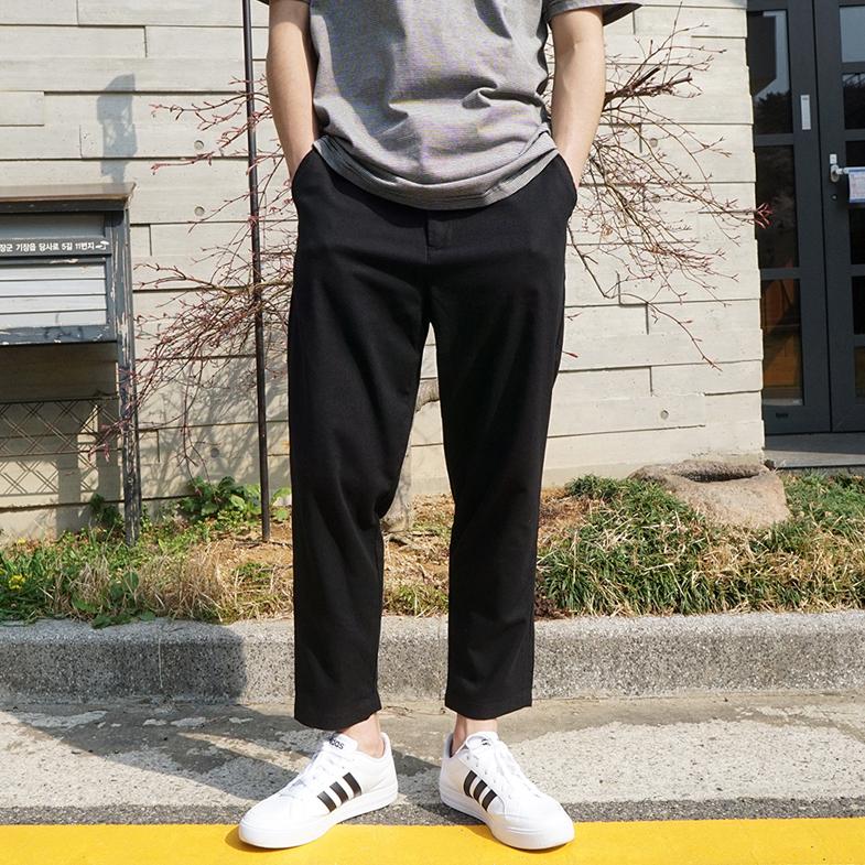 NA1346(28-36) <br>隐藏的松紧带亚麻裤子